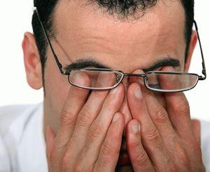 Неправильно подобранные очки вызывают утомление глаз