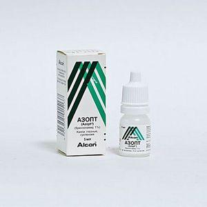 Препарат для глаз азопт