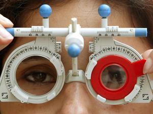 Приспособление для проверки остроты зрения