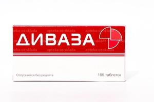 Описание свойств препарата Диваза