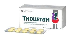 Описание свойств лекарственного препарата Тиоцетам